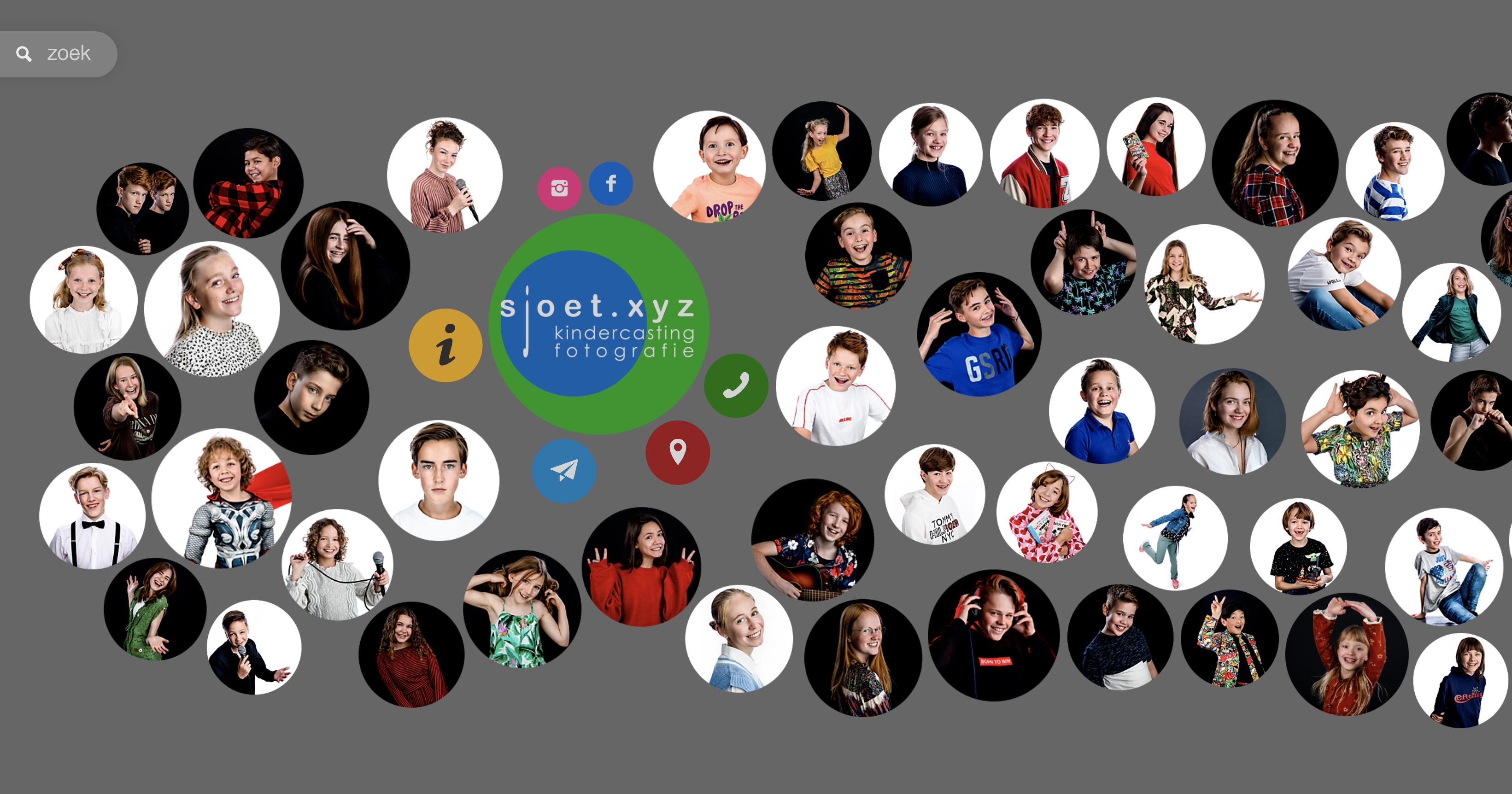 Sjoet.xyz | Kindercasting Fotografie
